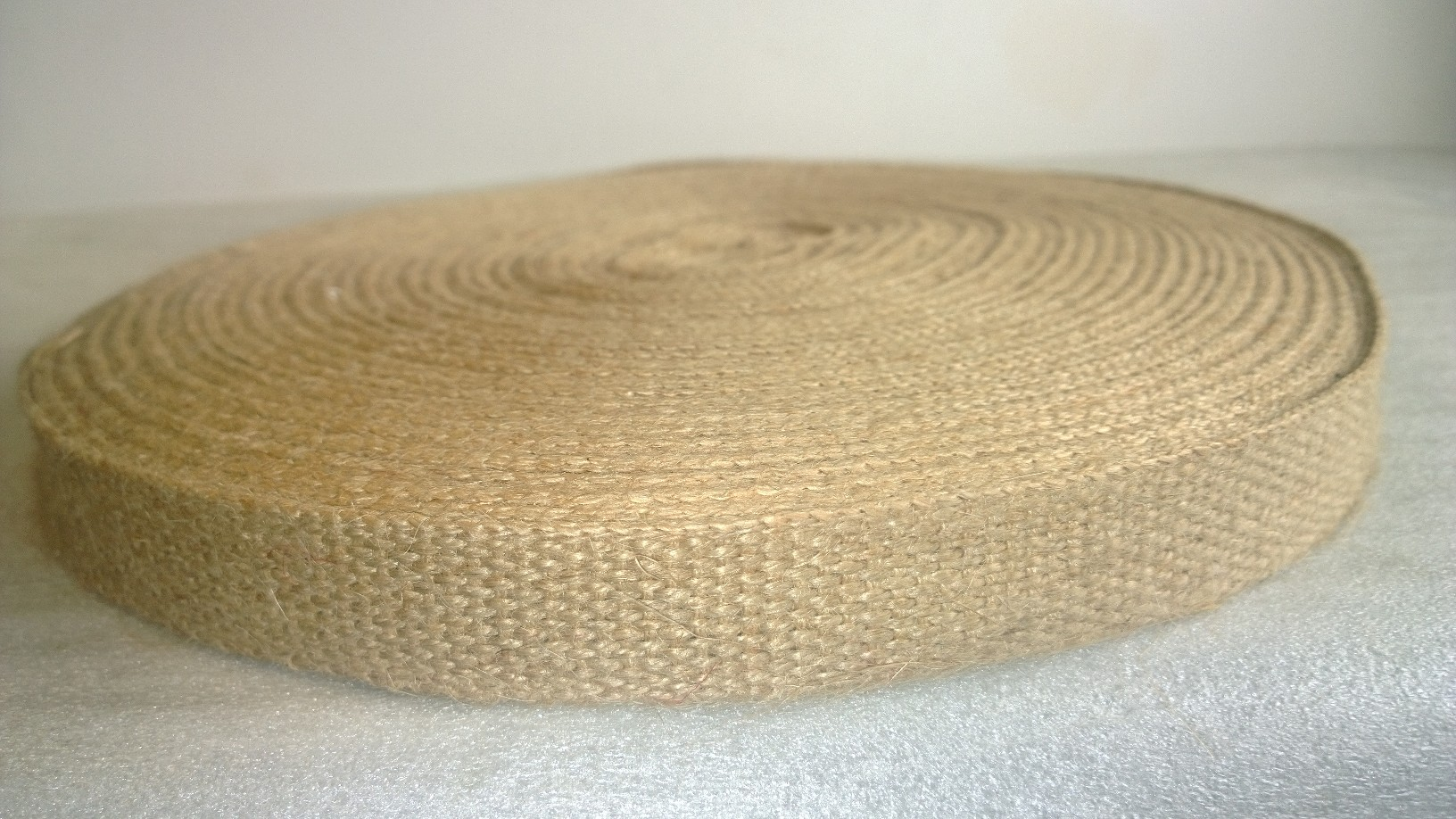 "1"" Jute Webbing -Natural 72 Yds"