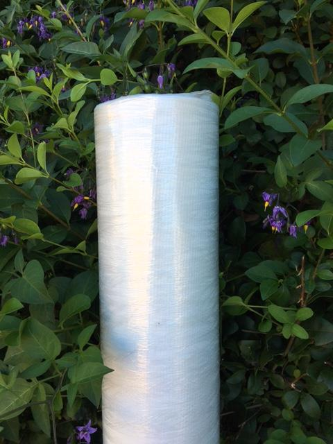 "63"" Wide Grade 10 White Cheesecloth Roll - 100 Yards"