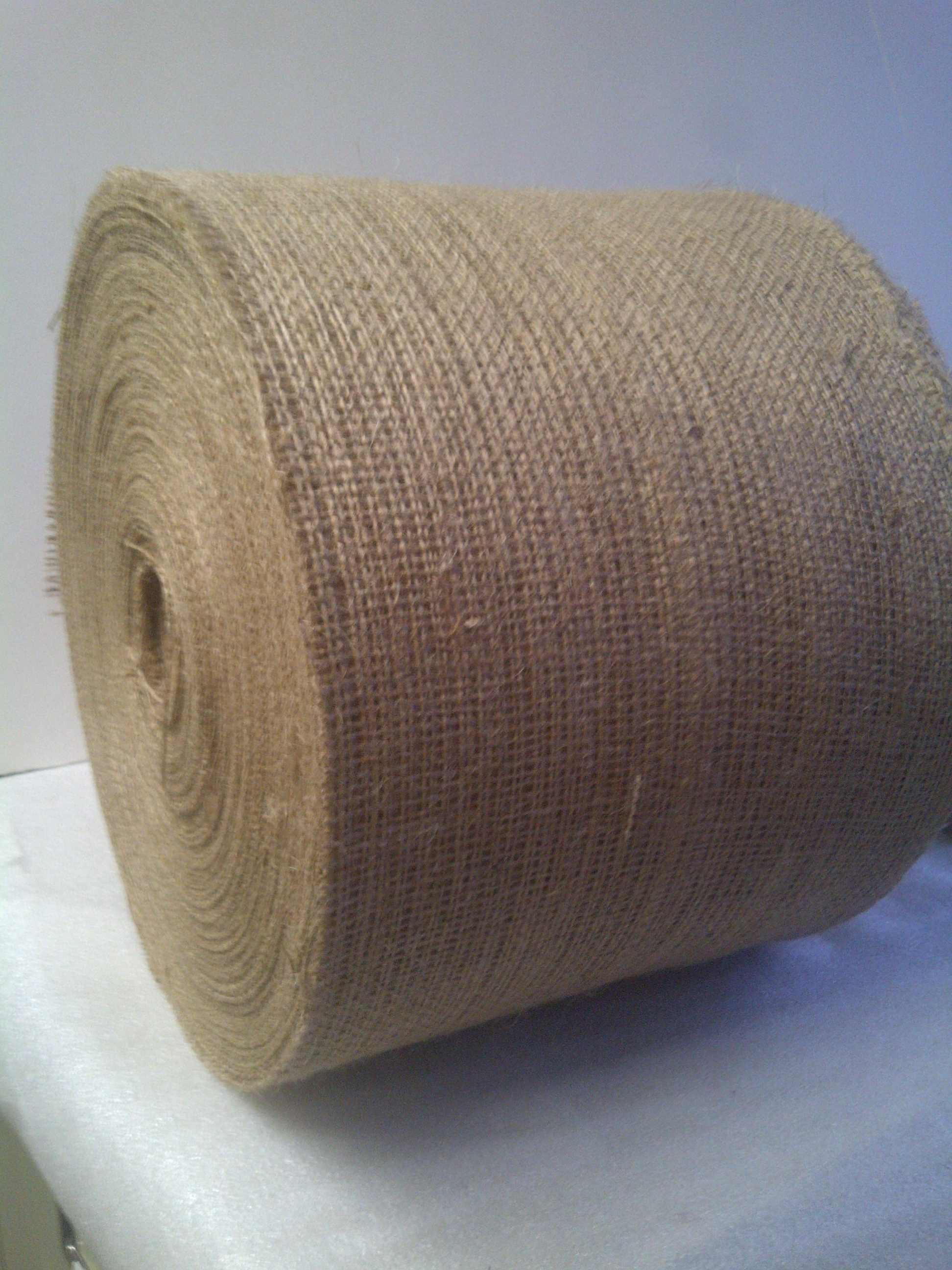 "7"" Wide Burlap Roll - 100 Yards"