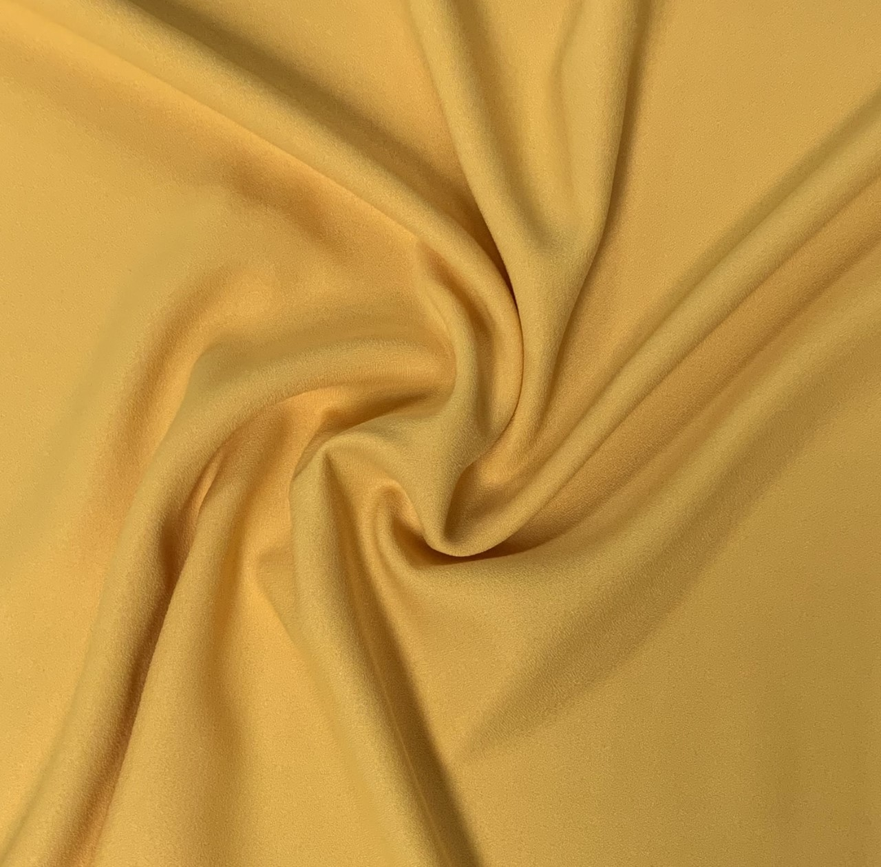 "60"" Wide Gold Crepe-By the yard (100% Polyester)"