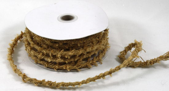 Wired Jute Twine - 10 Yds x 8mm - Natural