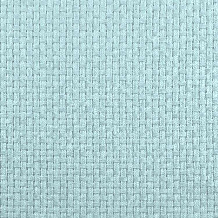 Monk's Cloth in Pastel Blue