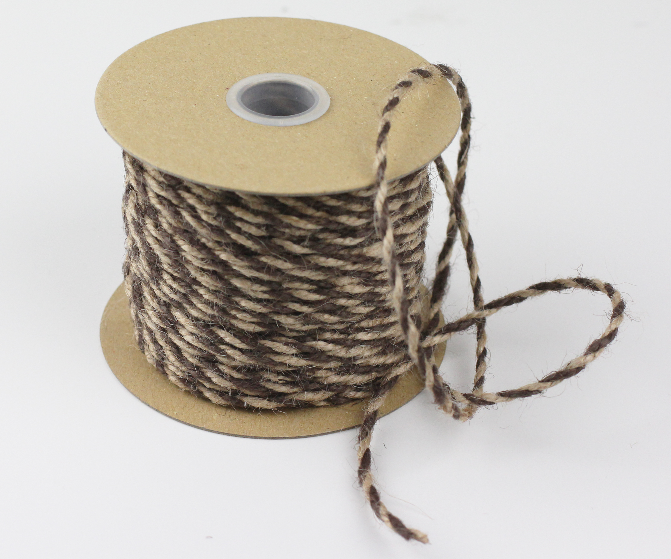 Brown/Natural Jute Twine - 2.5mm x 50 Yards