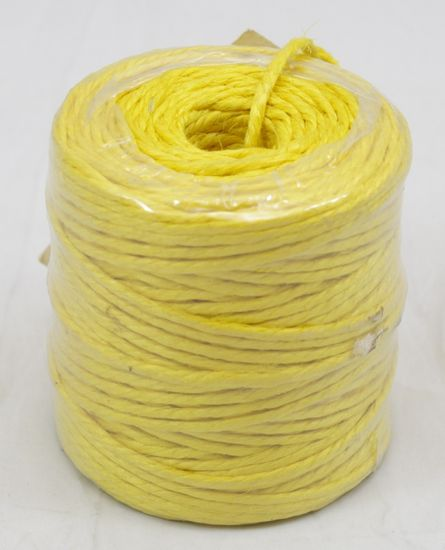 3 PLY JUTE TWINE-YELLOW 75 YDS