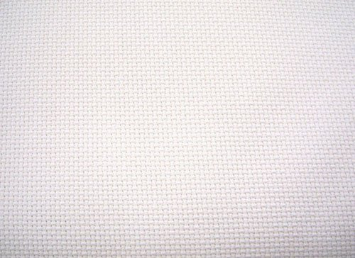 "White Aida Cloth, 14 Count, 60"" Wide BTY"