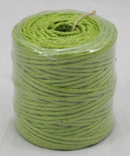 3 Ply Jute Twine- Apple Green 75 Yards
