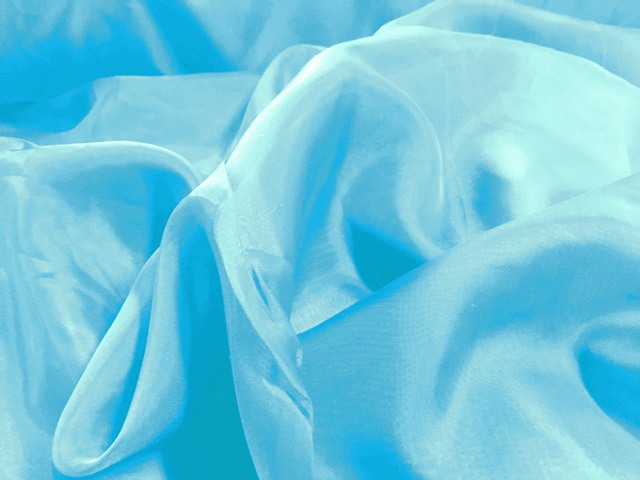 "Voile Fabric 118"" Wide in Aquamarine - By the Yard"
