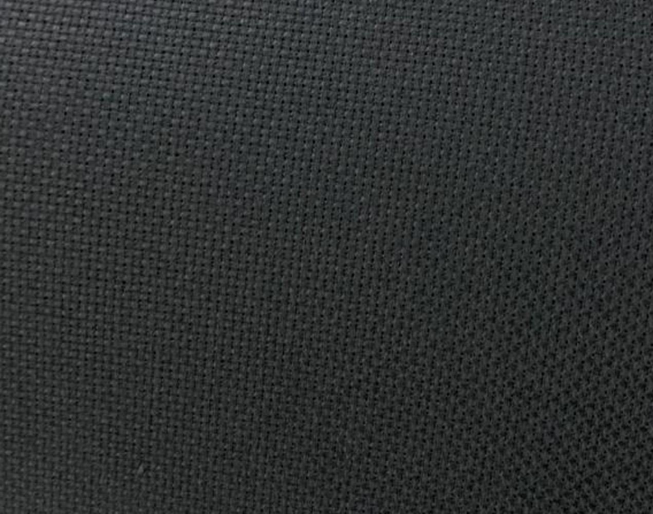 "60"" Wide Black Aida Cloth By The Yard - 14 Ct"