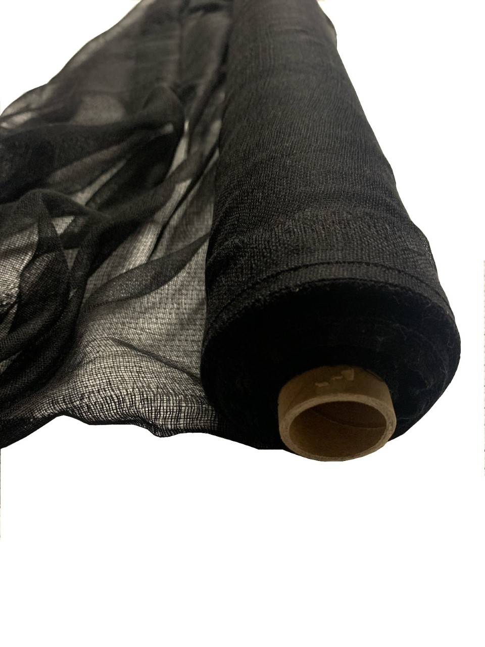 "Black Cheesecloth 36"" x 100 Foot Roll - 100% Cotton"