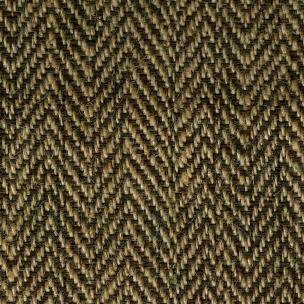 "Brown/Natural Herringbone Burlap Roll (14oz) - 48"" x 25 Yard"