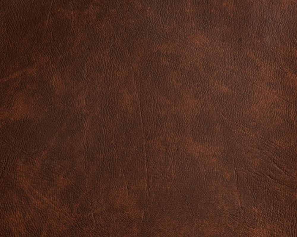 "Leather- like Vinyl Upholstery Brown Print 54"" Wide- By the yard"