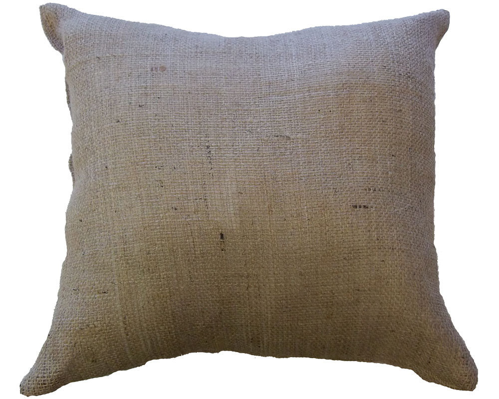 "20"" x 20"" Burlap Pillow"