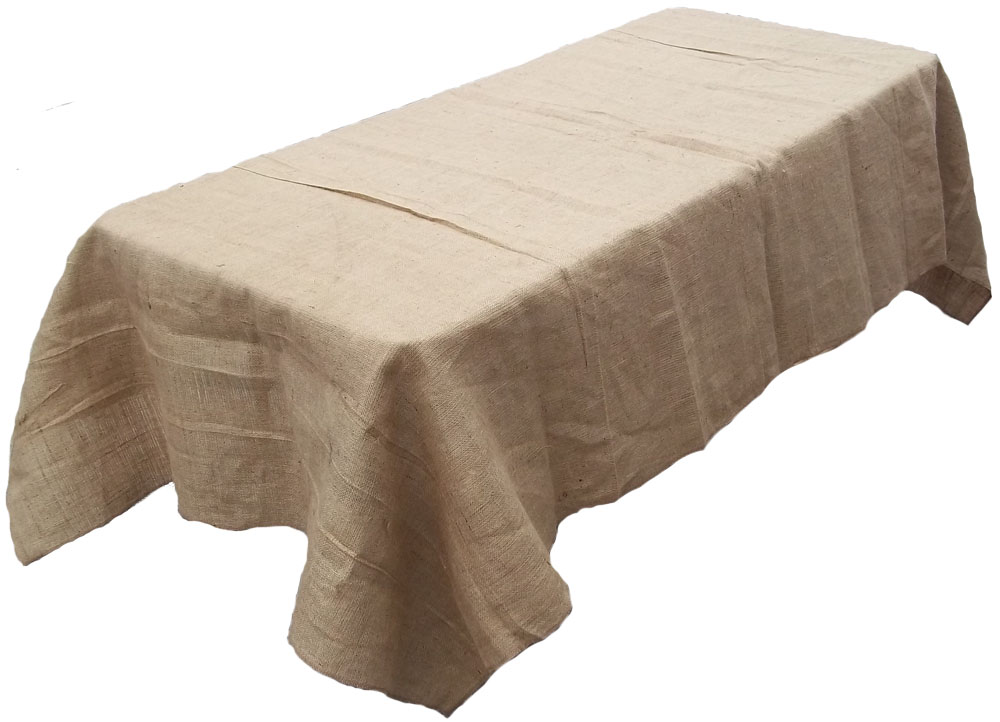 Natural Rectangular Tablecloth