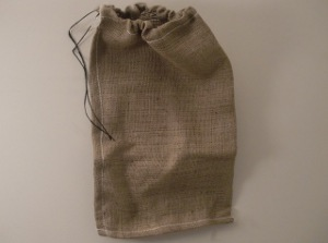 Industrial Jute Drawstring Bag