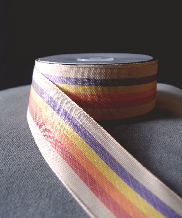 Striped Rainbow Ribbon