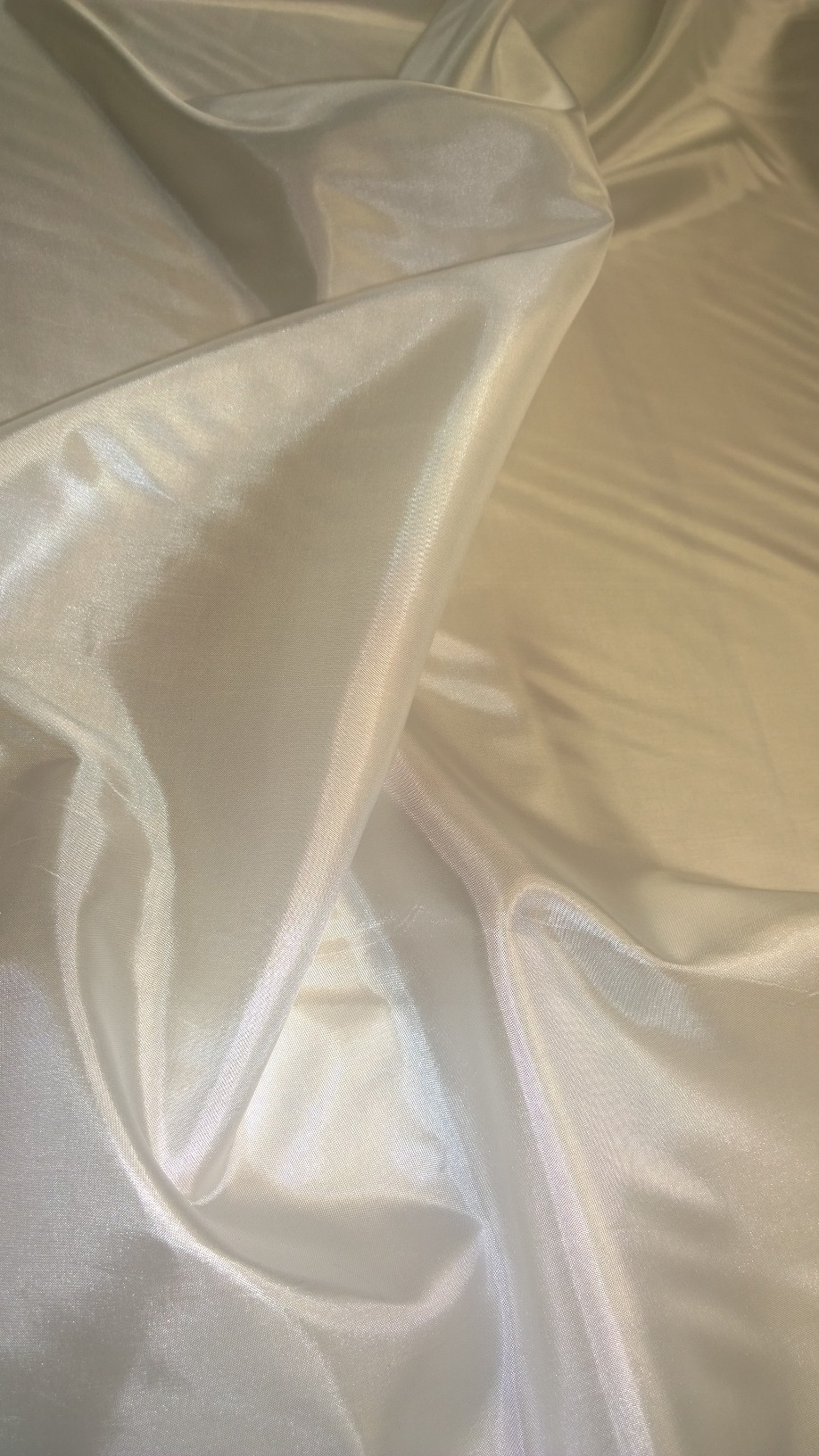 "By The Yard - 60"" Diamond White Habotai Fabric"