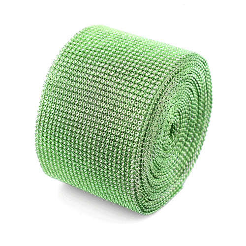 "Green Diamond Mesh Wrap - 4.5"" x 30 Feet"