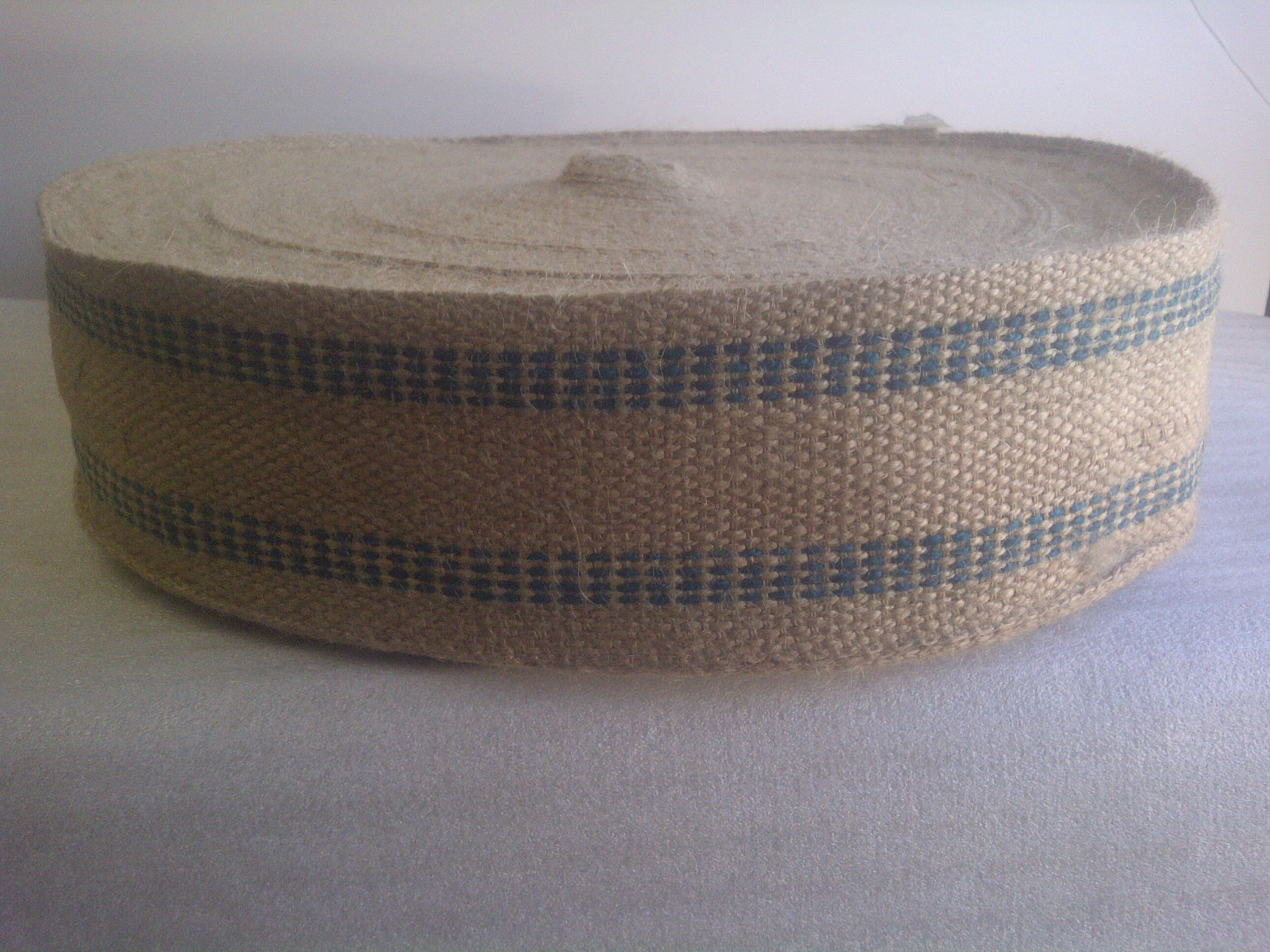 Jute Webbing Green - By the Yard