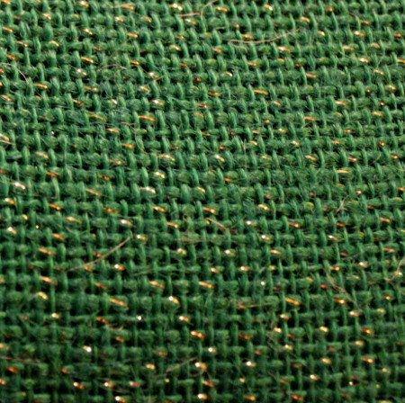 "Green Sparkle Burlap - 60"" x 15 Yards"