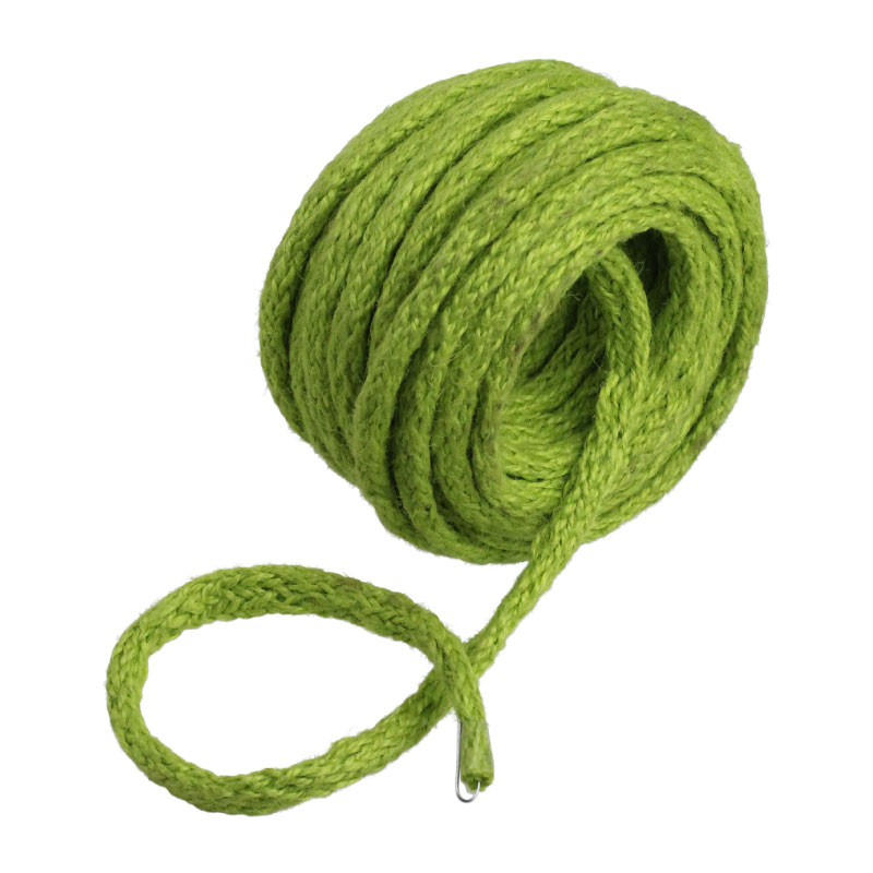 9 Yards Wired Jute Twine- Green