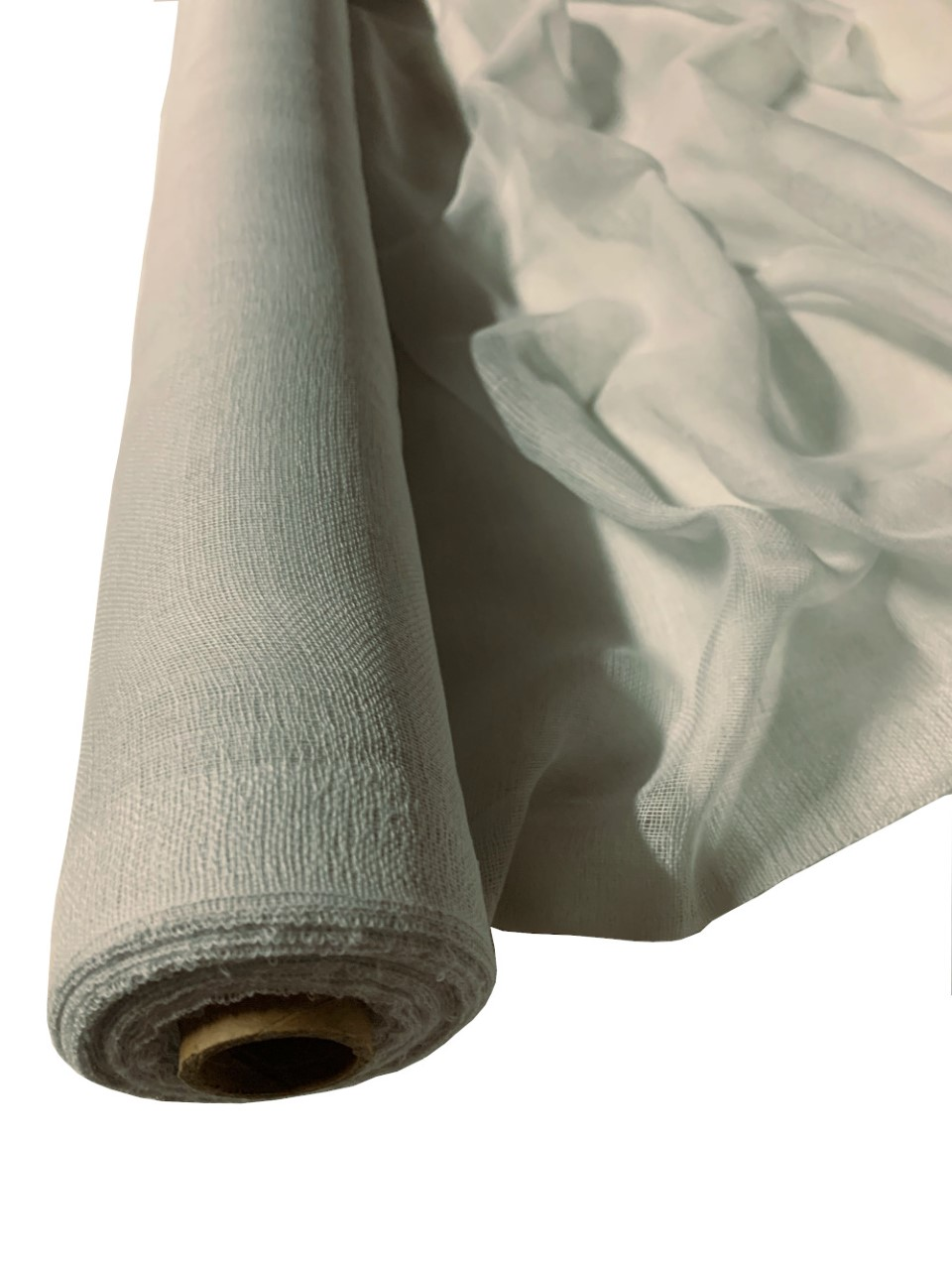 "Light Grey Cheesecloth 36"" x 100 Foot Roll - 100% Cotton"