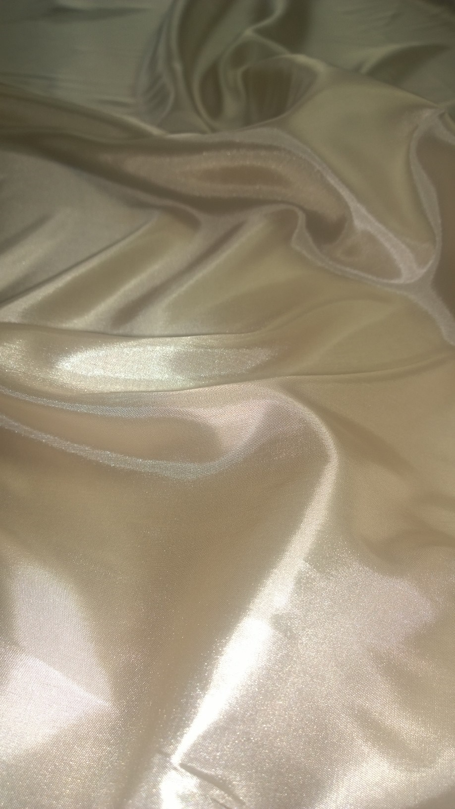 "By The Yard -60"" Light Nude Habotai Fabric"