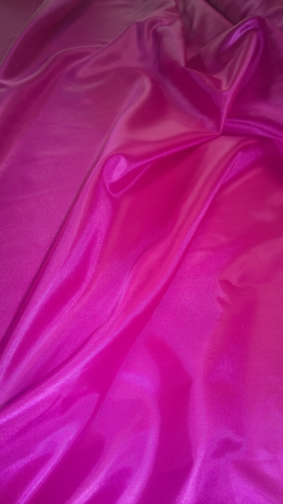 "By The Yard- 60"" Magenta Habotai Fabric"