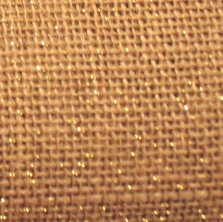 "Natural Sparkle Burlap - 60"" x 15 Yards"