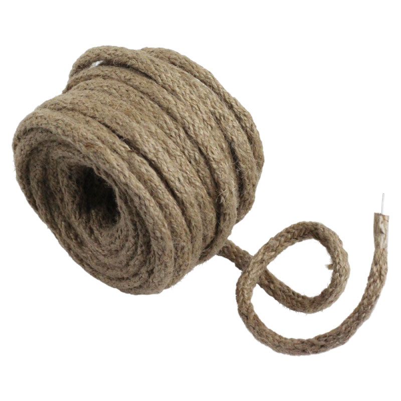 9 Yards- Wired Jute Twine- Natural