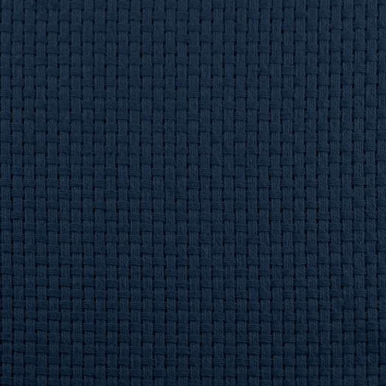 Monk's Cloth in Navy