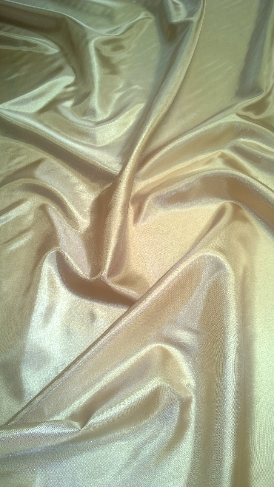 "By The Yard- 60"" Nude Habotai Fabric"