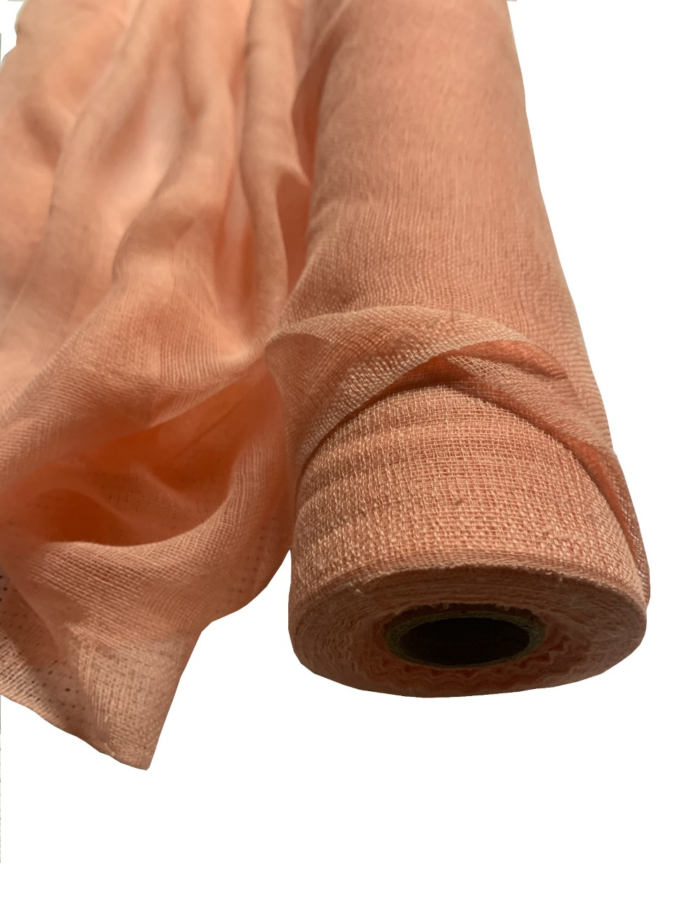"Peach Cheesecloth 36"" x 100 Foot Roll - 100% Cotton"
