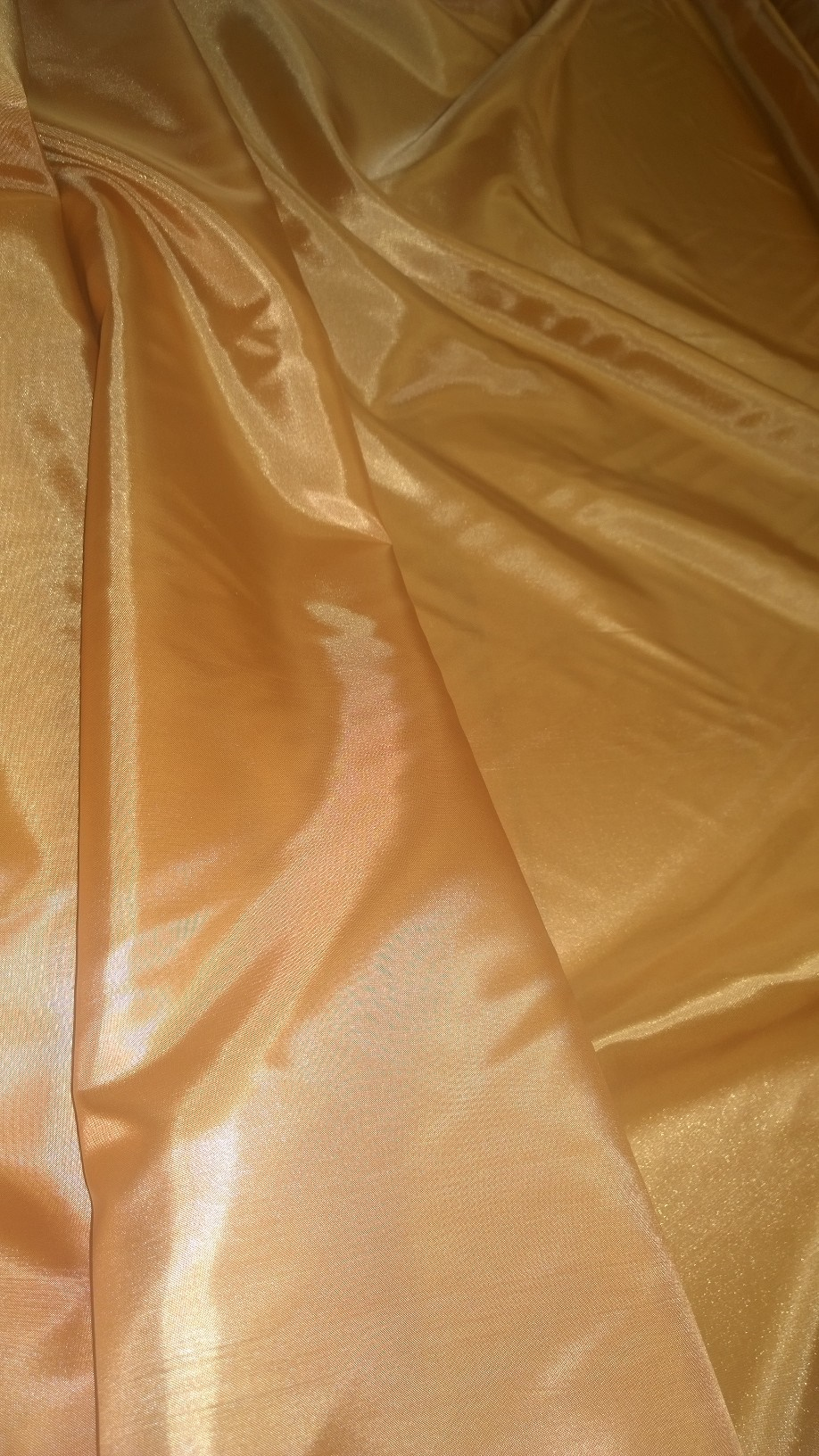 "By The Yard- 60"" Peach Habotai Fabric"