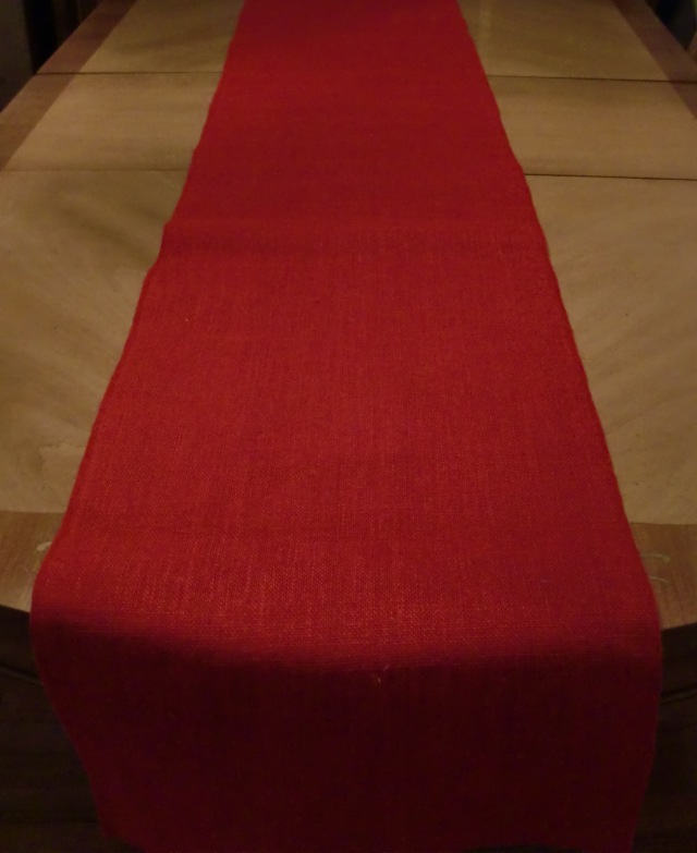 table runner new 3 table runners in red