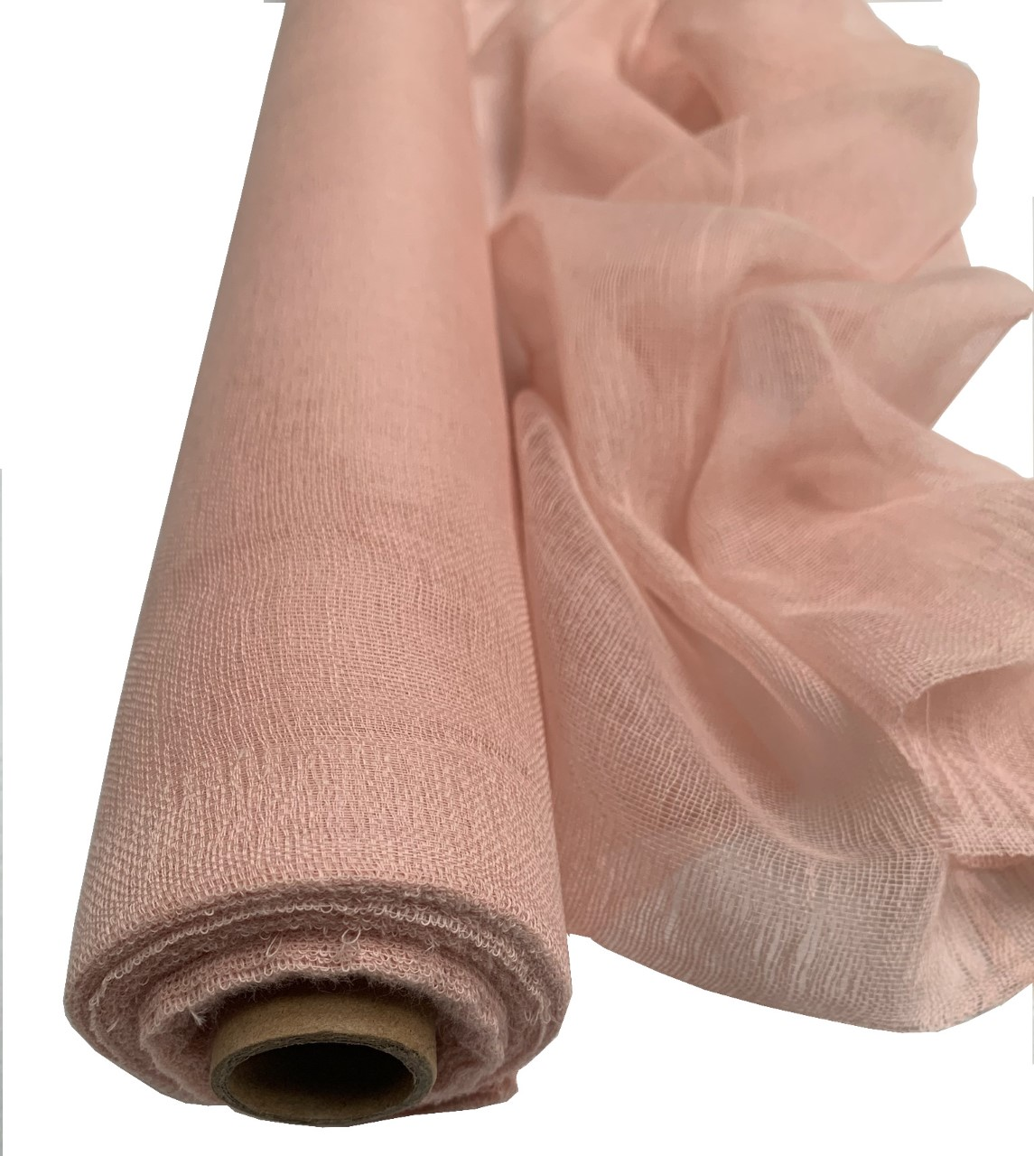 "Rose Gold Cheesecloth 36"" x 100 Foot Roll - 100% Cotton"