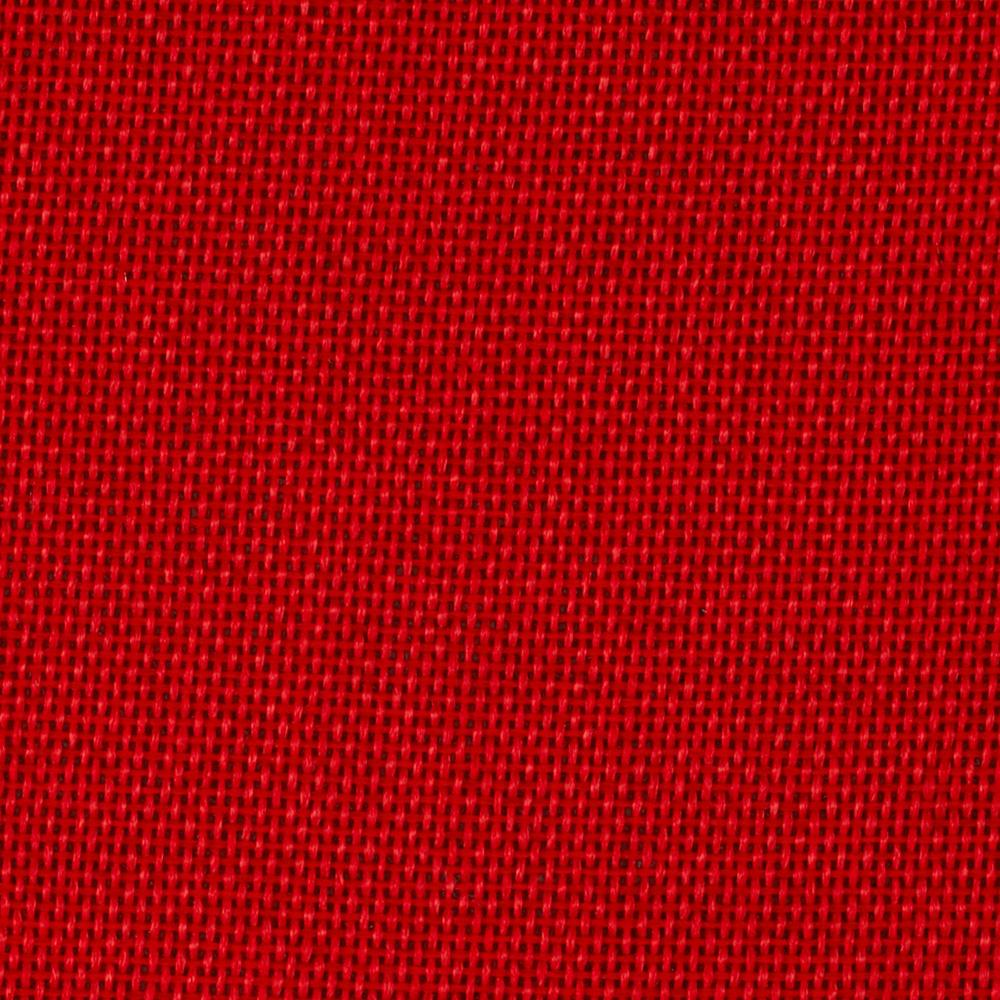 "By the yard -Faux burlap 58"" (polyester)- Rouge"