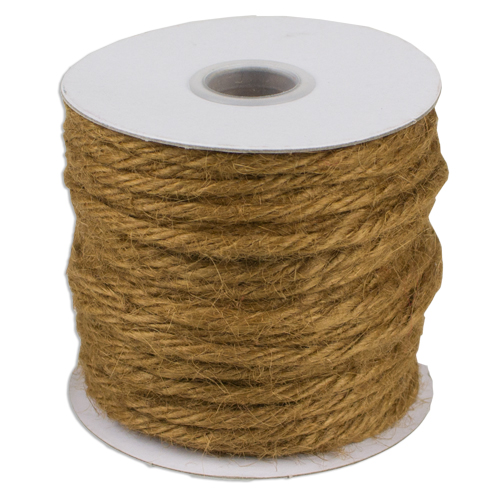 Sable Jute Twine - 3.5mm x 25 Yards