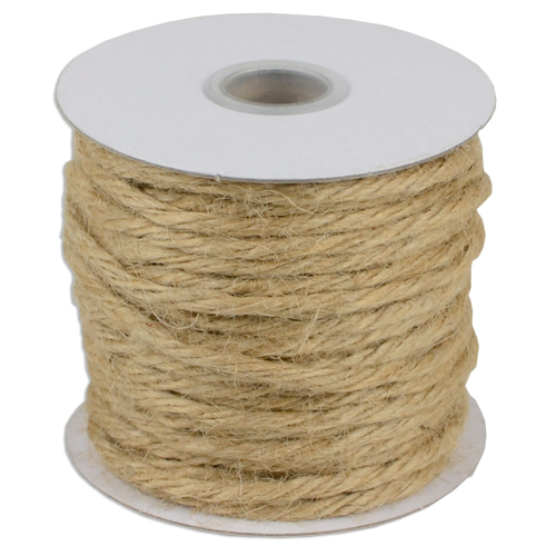Natural Jute Twine - 3.5mm x 25 Yards
