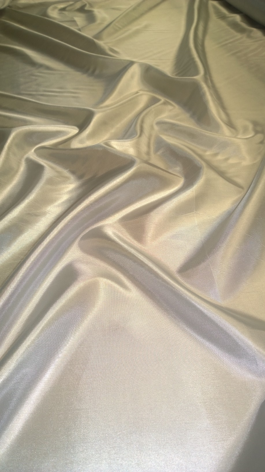 "By The Yard-60"" Silver Habotai Fabric"