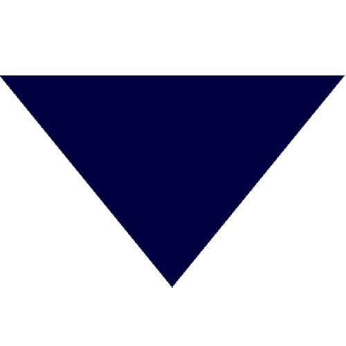 "Triangle Bandana - Navy 22"" X 22"" X 30"""