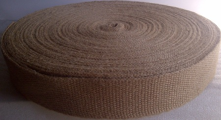 "2"" Wide (No Stripe) NATURAL WEBBING"
