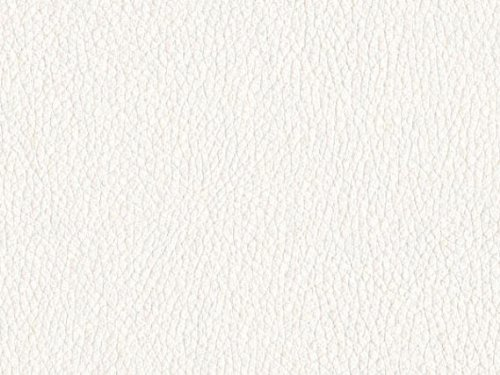 "Leather-like Vinyl Upholstery White 54"" Wide - By the yard"