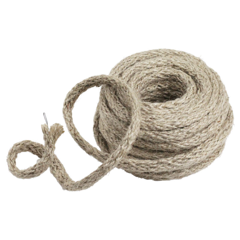 9 Yards Wired Jute Twine - Off White