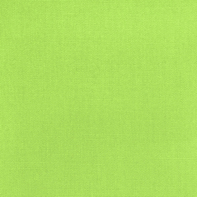 "45"" Lime Broadcloth- By the Yard"