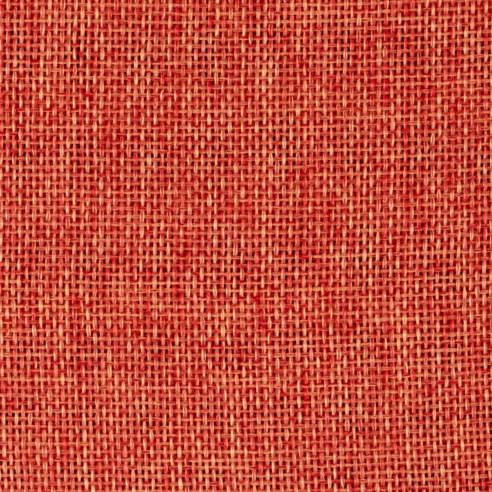 "By The Yard- Faux Burlap 58"" (Polyester) -Mandarine"